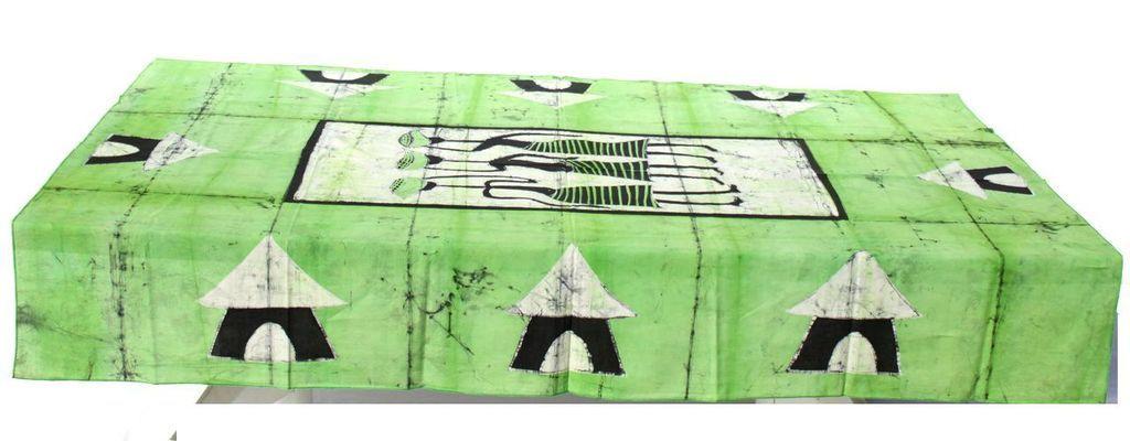 Nappe rectangulaire  batick 7 serviettes