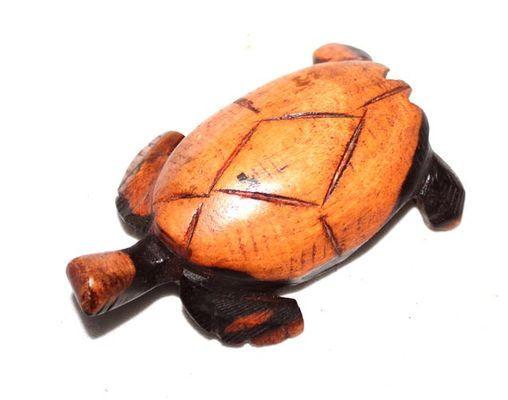 tortue en bois ébène 0540-A